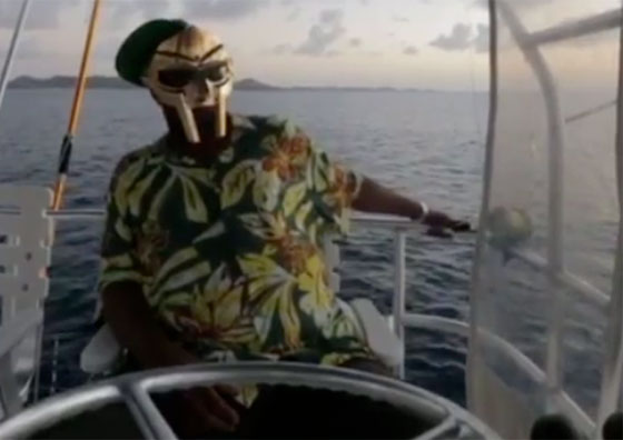 MF Doom Honours J Dilla with a Moment of Silence... from a Boat