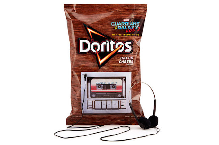 The New 'Guardians of the Galaxy' Soundtrack Is Getting Released in Some Sort of Doritos Bag Music Player