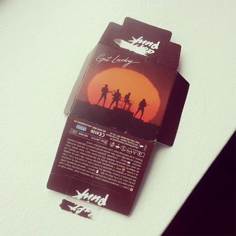 "Daft Punk Release ""Get Lucky""-themed Condoms"