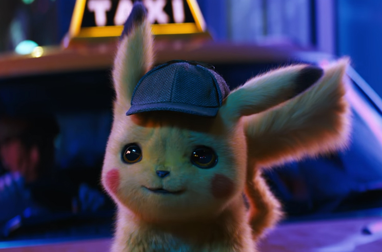 Here's Your First Look at Ryan Reynolds as 'Detective Pikachu'