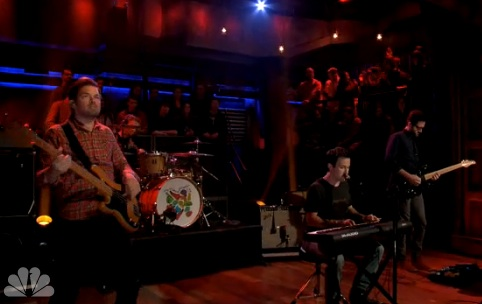 "The Dismemberment Plan ""Daddy Was a Real Good Dancer"" / ""Invisible"" (live on 'Fallon')"