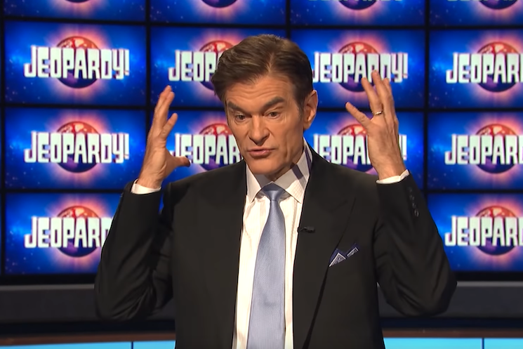 Hundreds of Former 'Jeopardy!' Contestants Petition to Remove Dr. Oz as Guest Host