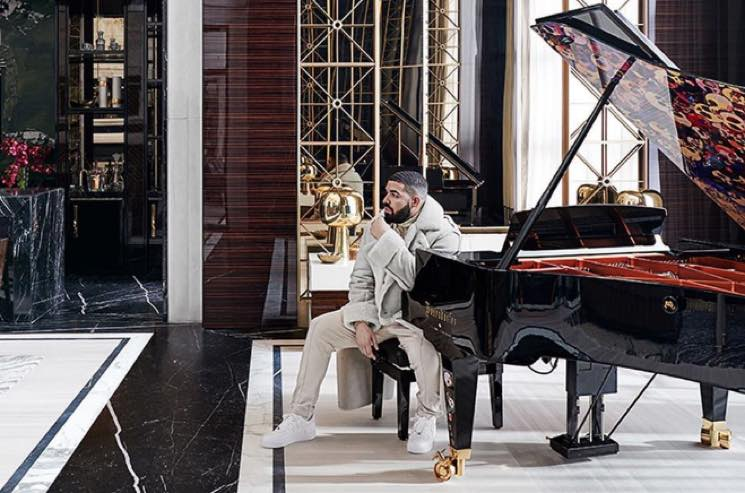 Drake's Now Showing Off His Mansion in 'Architectural Digest' Magazine
