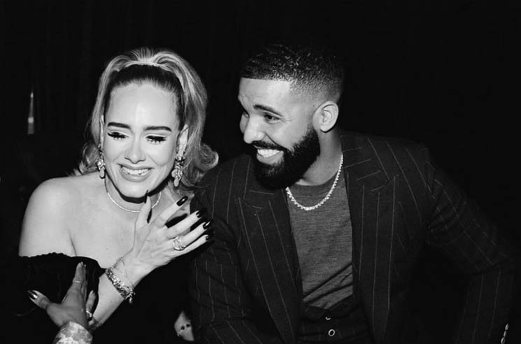 ​Drake Had Another Birthday Party and This Time Adele Came