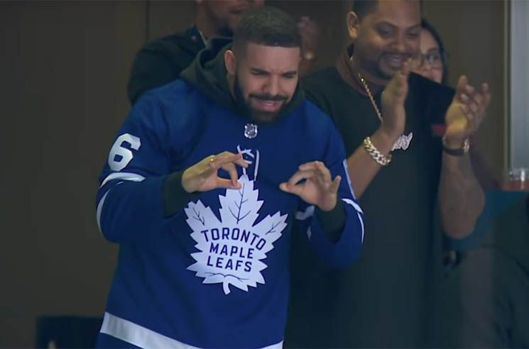 "​The Internet Thinks the ""Drake Curse"" Is to Blame for the Leafs' Loss Last Night"