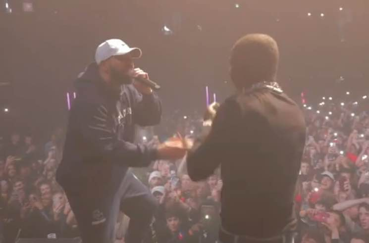 DaBaby Brought Out Drake at His Toronto Show Last Night