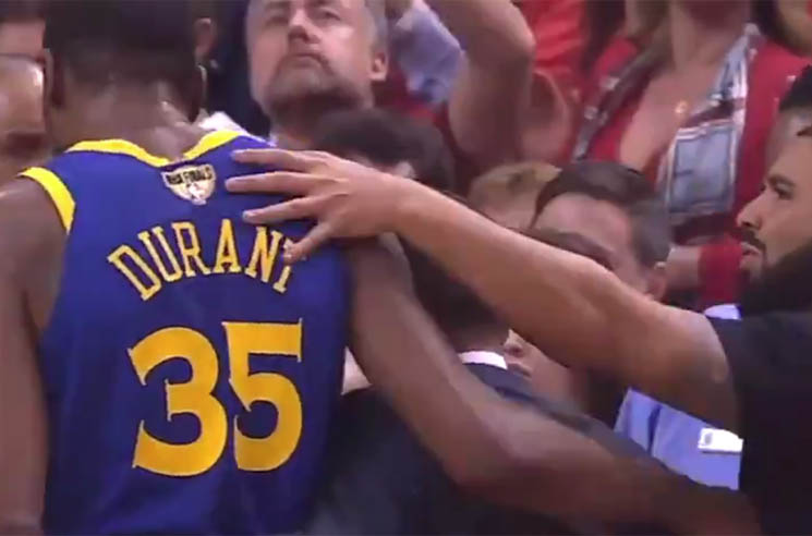 Drake Pays Homage to Injured Golden State Warrior Kevin Durant