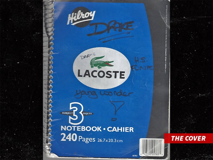You Can Now Buy Drake's School Notebook