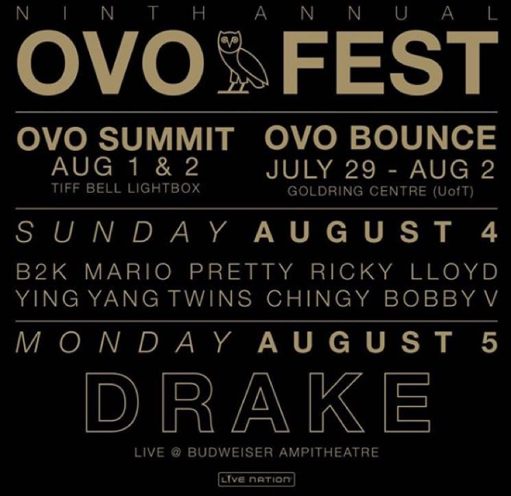 ​Drake Fans Are Upset About the Price of OVO Fest Tickets