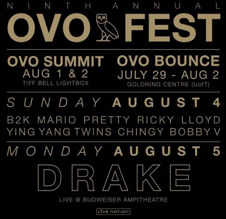 Drake Details OVO Fest 2019