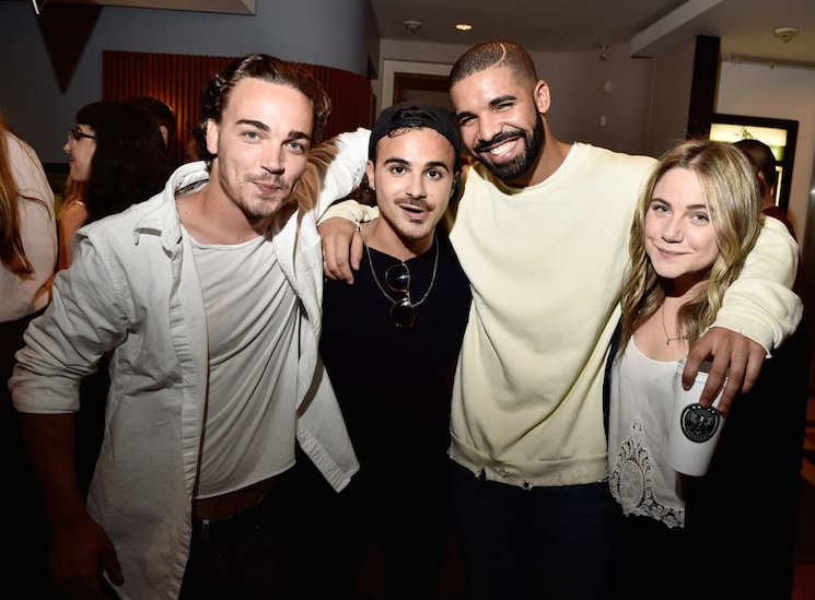 Drake Finally Reunites with 'Degrassi' Co-Stars