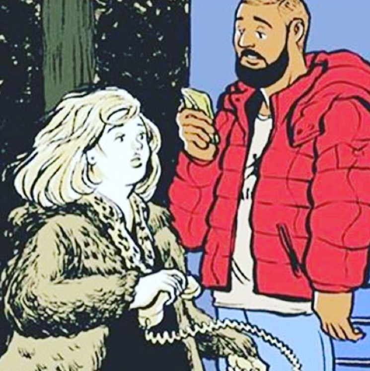 "Adele and Drake Hint at ""Hotline Bling"" Remix"
