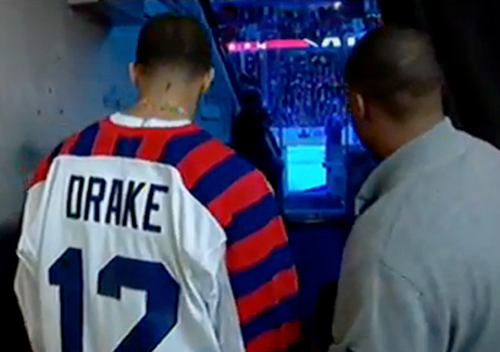Drake NHL All-Star Game Performance (video)