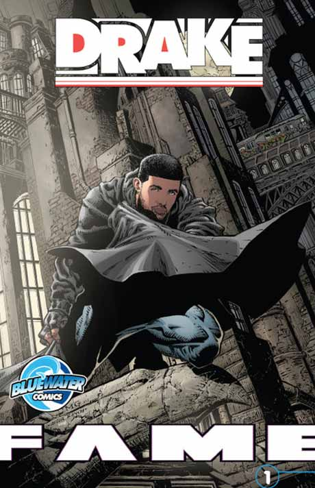 Drake Portrayed as Batman for Comic Book Reissue