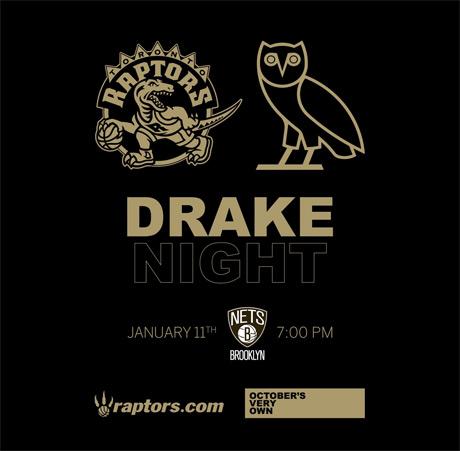 Toronto Raptors Plan 'Drake Night'