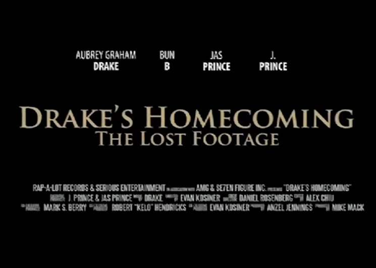Drake's Homecoming Show Featured in New Documentary