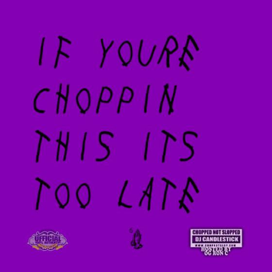 """Drake """"Madonna"""" (Chopped Not Slopped version with bonus verse)"""
