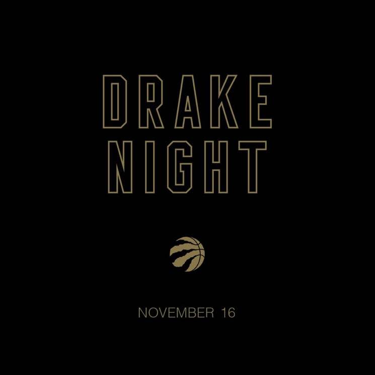 "Drake Reveals Date for Raptors' ""Drake Night"""