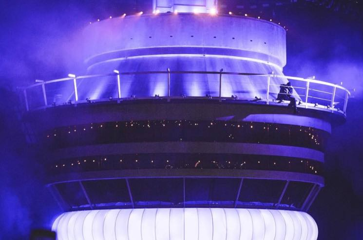 Here's How Drake Got a Massive Replica of the CN Tower to OVO Fest