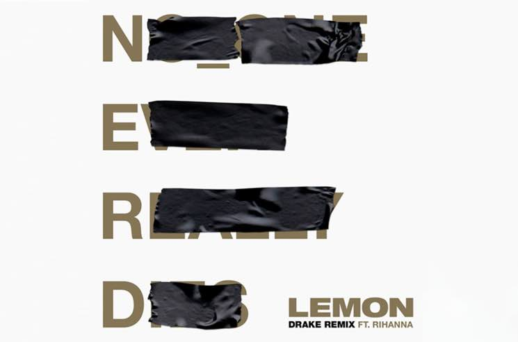 "Hear ​Drake Hop on New Remix of N.E.R.D. and Rihanna's ""Lemon"""