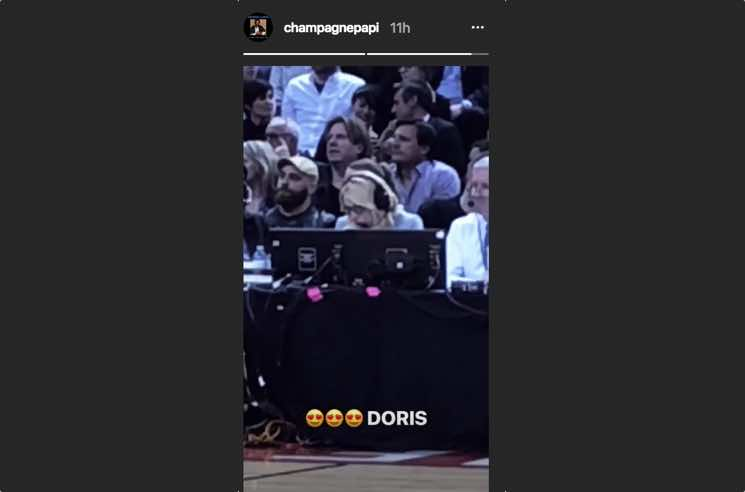 ​Drake Finally Met ESPN's Doris Burke at the Raptors Game Last Night