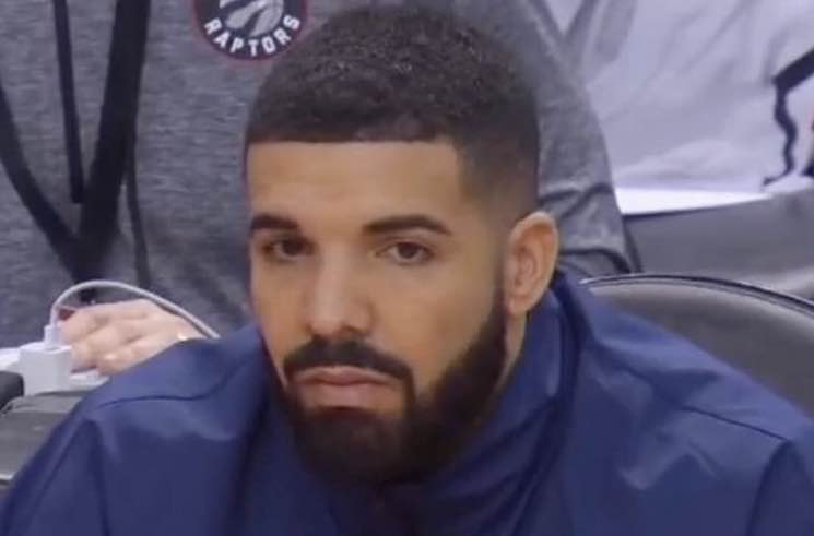 ​Drake Silenced by the NBA on the Raptors' Sidelines