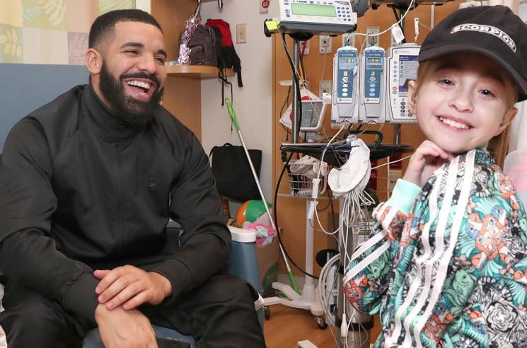 Sick Fan Visited by Drake Gets Heart Transplant