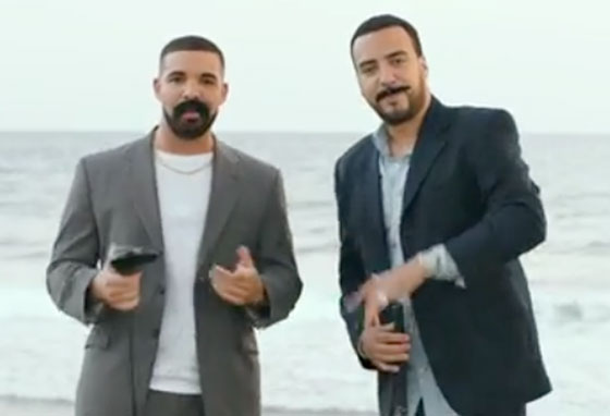 "Watch Drake and French Montana Don Bad Fake Mustaches and Even Worse Fake Accents in ""No Shopping"" Video"