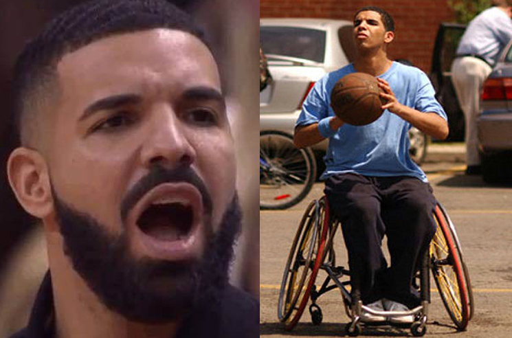 Drake Was Apprehensive About His 'Degrassi' Character's Wheelchair