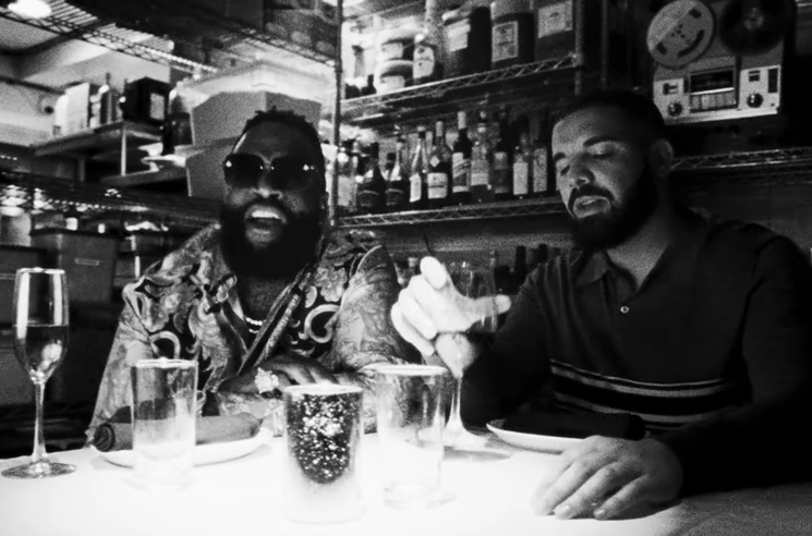 "Drake and Rick Ross Share Video for ""Money in the Grave"""