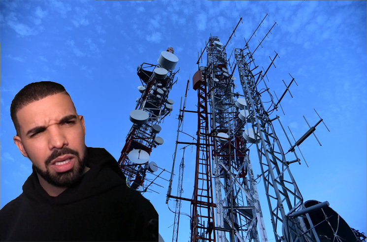 Drake Is Upset at the City of Pickering's Wi-Fi