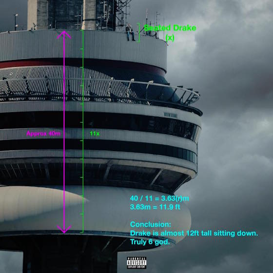 Yes, Drake's New Album Cover Is Photoshopped, Toronto Officials Confirm