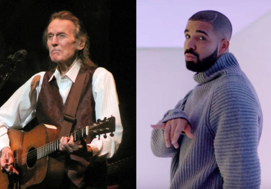 Gordon Lightfoot Can't Wait to Be Neighbours with Drake
