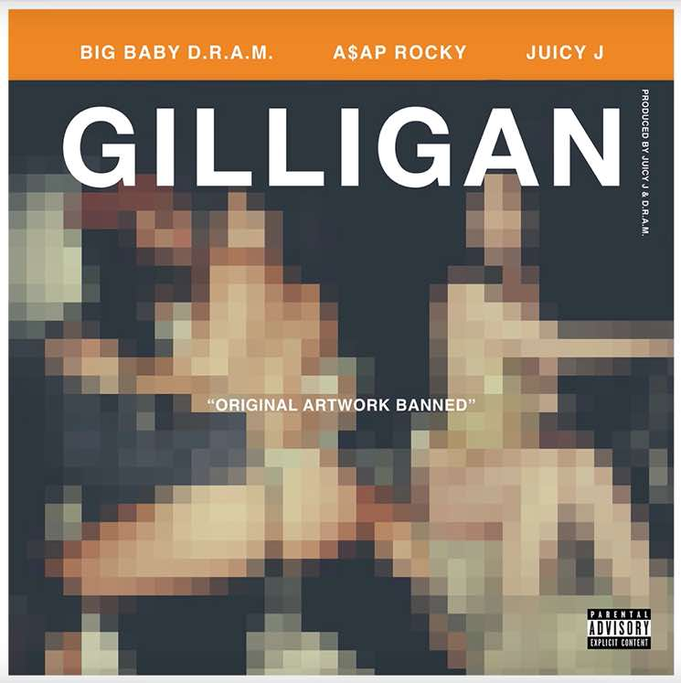 "D.R.A.M.  ""Gilligan"" (ft. A$AP Rocky and Juicy J)"