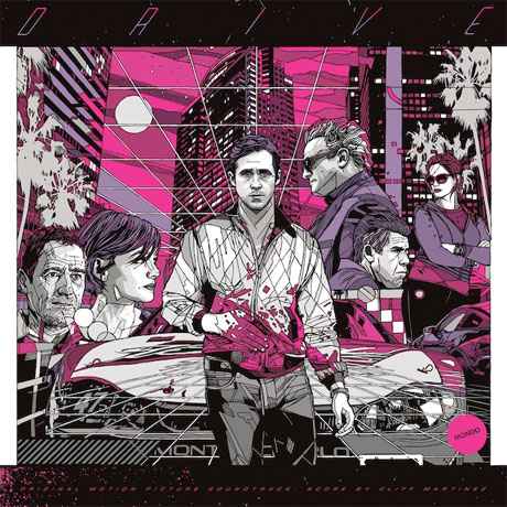 Mondo Details 'Drive' Soundtrack Vinyl Reissue