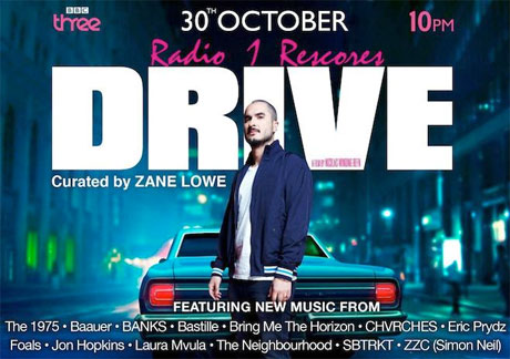 Zane Lowe Updates 'Drive' Soundtrack with New Tracks from CHVRCHES, SBTRKT, Jon Hopkins