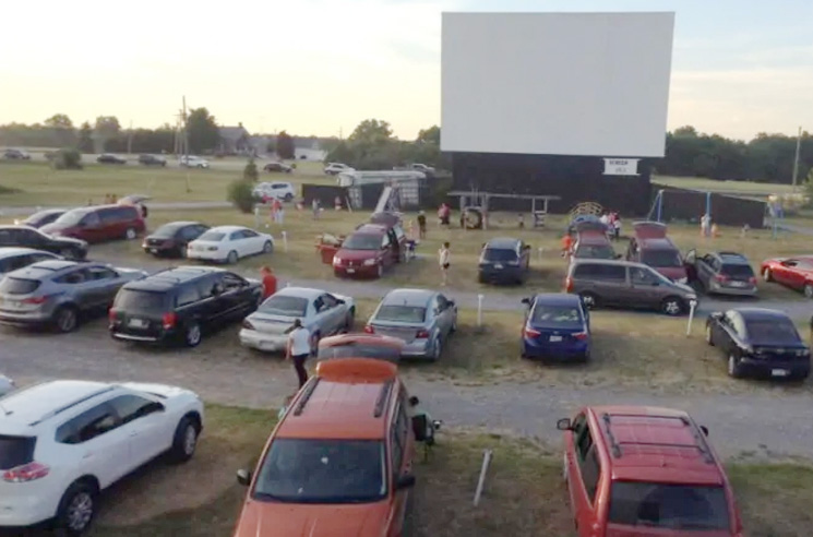 """Drive-In"" Concerts Are Real and Coming to the U.S."