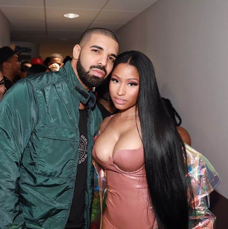 Watch Nicki Minaj Join Drake Onstage in Paris