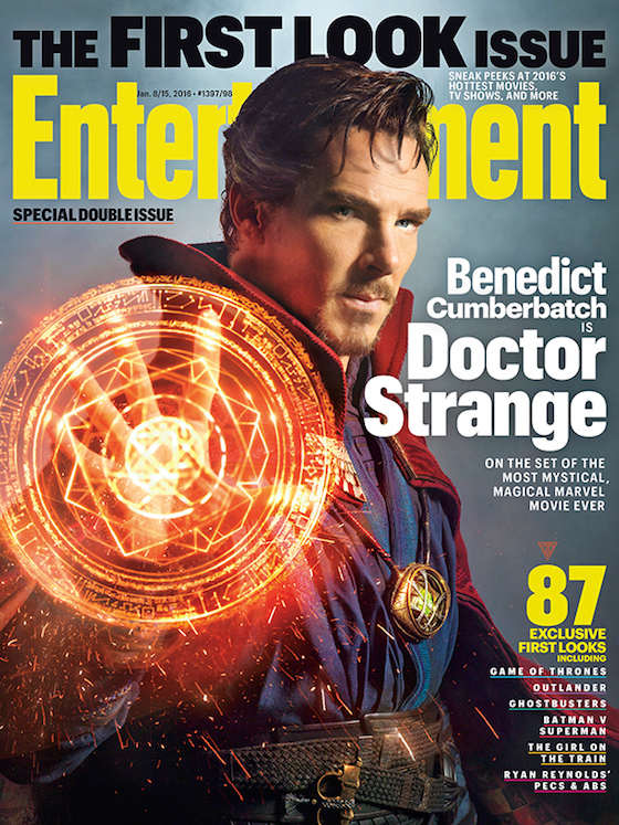 Here's Your First Look at Benedict Cumberbatch in Marvel's 'Doctor Strange'