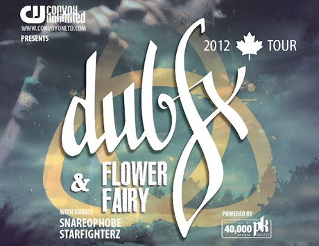 Dub FX and Flower Fairy Team Up for Canadian Summer Tour; Win Tickets Now