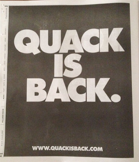 Quack Is Back: Duck Sauce to Return with New Single