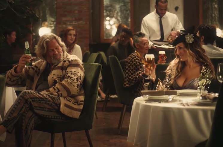 The Dude and Carrie Bradshaw Star in Stella Artois Super Bowl Ad