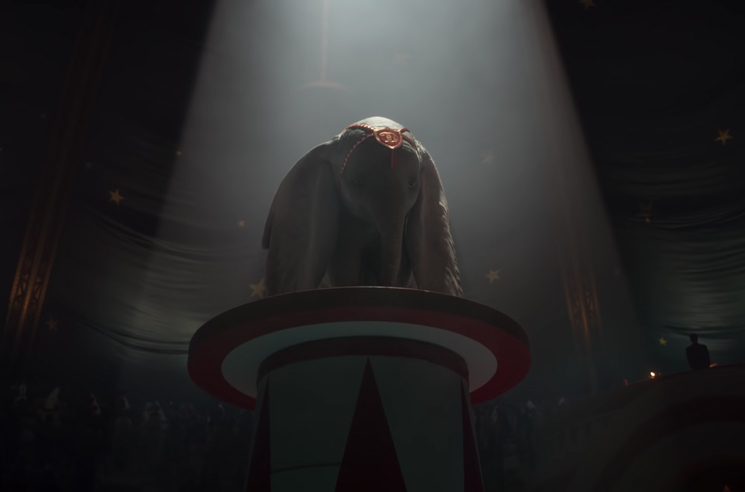 Here's Your First Look at Disney's Live-Action 'Dumbo' Remake
