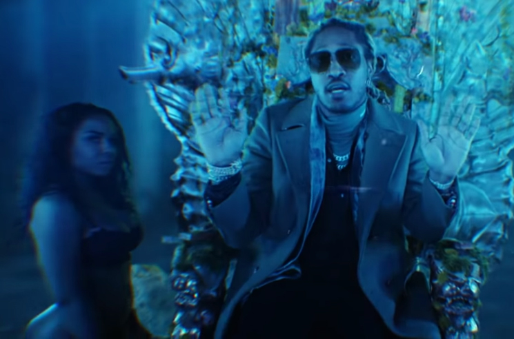 "Future Shares Video for ""Goin Dummi"""