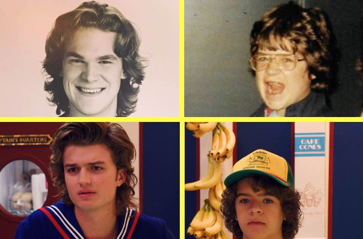 ​Young David Harbour and Patton Oswalt Are Basically Identical to Steve and Dustin on 'Stranger Things'