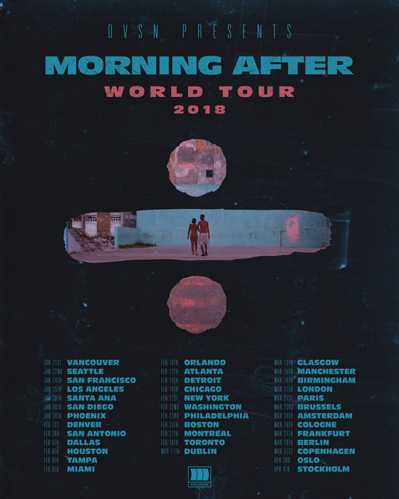 "Dvsn Map Out ""Morning After World Tour"""