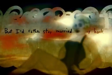 "Bob Dylan ""Married to My Hack"" (performed by Jim James, Marcus Mumford, Elvis Costello) (lyric video)"