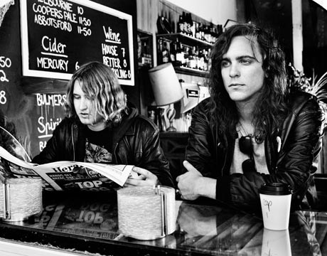 "DZ Deathrays ""Dollar Chills"" (Cadence Weapon remix)"