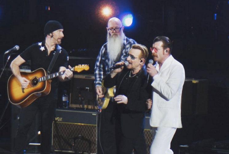 Eagles of Death Metal Join U2 Onstage in Paris