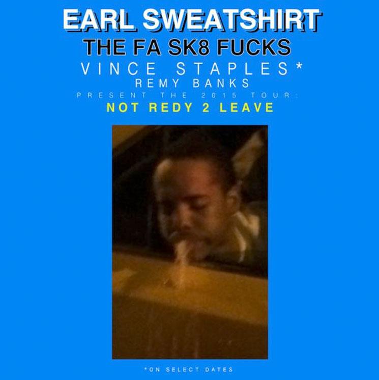 Earl Sweatshirt Announces 'Not Redy 2 Leave' Tour